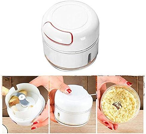 Blint - Picadora multifunción para ajos para verduras rápidas, herramientas manuales de alta calidad, mini picadora de carne de cocina Meat Grinder Kitchen Tool