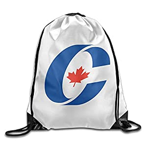 YesYouGO Emblem Of The Conservative Party Of Canada Unisex Drawstring Backpacks/Bags