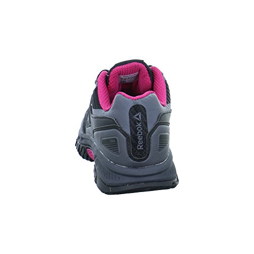 Reebok ridgerider Trail 3.0–Scarpe da ginnastica, Donna, Nero–(Black/Ash Grey/Acid Pink)