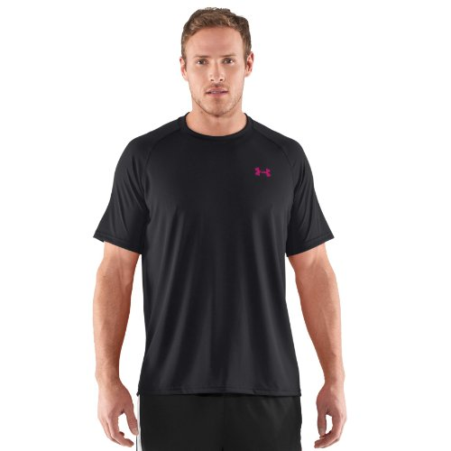Under Armour Men's UA Tech Short Sleeve T Shirt Medium Black