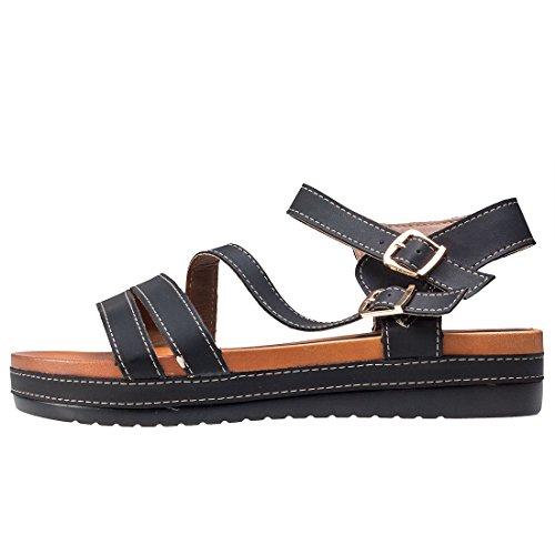 Cardouno Ankle Strap Womens Sandals 6lzCg7gmZU