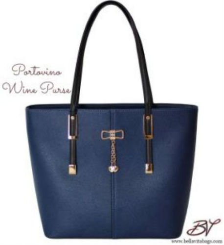 (PortoVino Wine Purse (Blue))