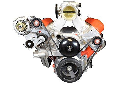 - LS Idler Pulley Bracket - Power Steering Eliminator LSX Camaro 1999 2002 LS1 GTO ICT 551776-2
