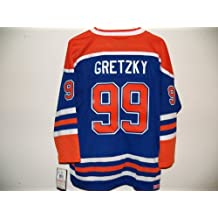 CCM Heroes of Hockey WAYNE GRETZKY YOUTH Small/Medium Oilers NHL Jersey