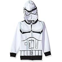 Star Wars boys Big Boys Stormtrooper Fleece Zip Costume Hoodie