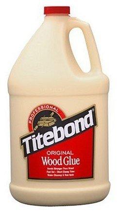 Titebond 5066 Original Wood Glue, 1 Gal Bottle, Pack of (Wood Glue 1 Gallon Bottle)
