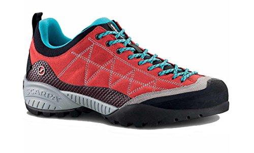 Scarpa Men's Zen Pro Approach Shoe Tomato / Cyan Blue WkRlM