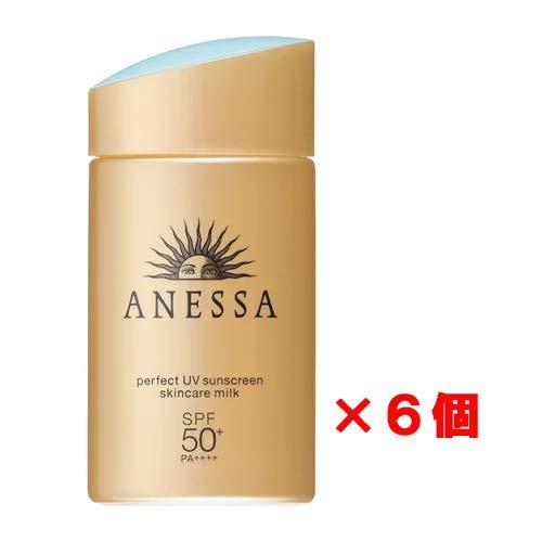 アネッサ パーフェクトUV スキンケアミルク SPF50+/PA++++ 60mL ×6個セット B07NRYT7CK  6個セット
