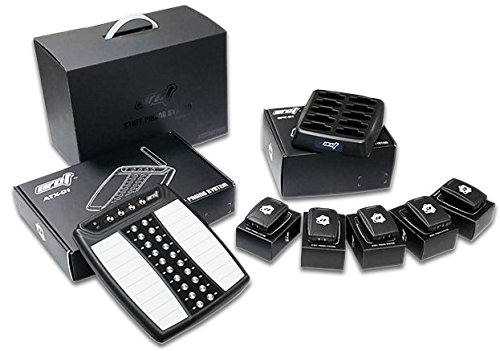 Wireless Paging System Kit - 10 Pagers, Charger and Transmitter - Newest Design (Server Pagers Restaurant)