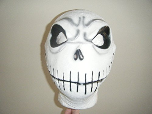 WRESTLING MASKS UK The Nightmare Before Christmas - Deluxe Latex Universal Mask -