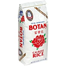 Botan Calrose Rice, 5-Pounds (Pack of 2)