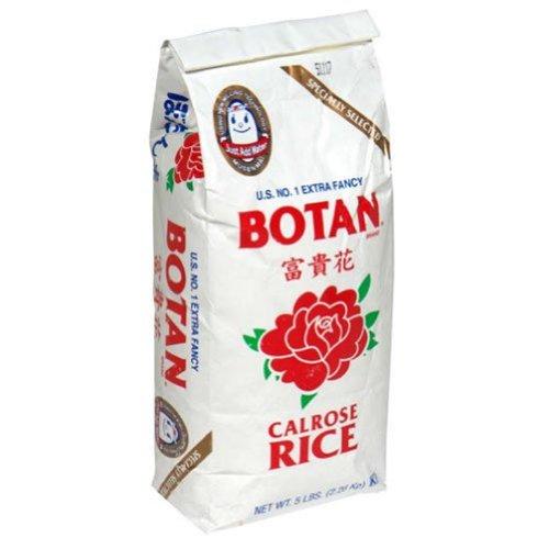 Botan Calrose Rice, 5-Pounds (Pack of 2) by Botan