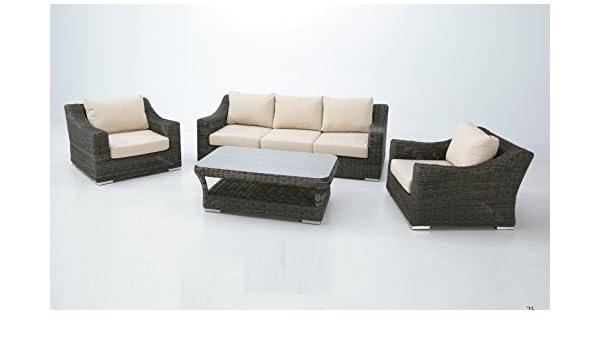 Set sofas terraza Torino luxe: Amazon.es: Jardín