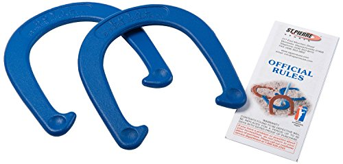 St. Pierre Royal Classic Horseshoe Pair (2 Blue Horseshoes) by St.Pierre - Made in USA ()
