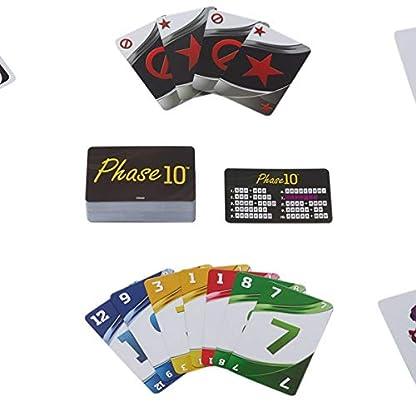 Mattel Games FFK01 - Kartenspiele Spielesammlung in Metalldose mit UNO, Phase 10, Snappy Dressers, Gesellschaftsspiele ab 7 Jahren 3