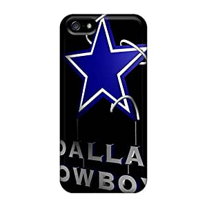 Awesome Design 3d Dallas Cowboys Hard Case Cover For Iphone 5/5s