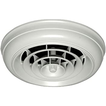 QUICK CONNECT HT CCG6B R1D Round Capital Crown Ceiling Diffuser And 6 Inch