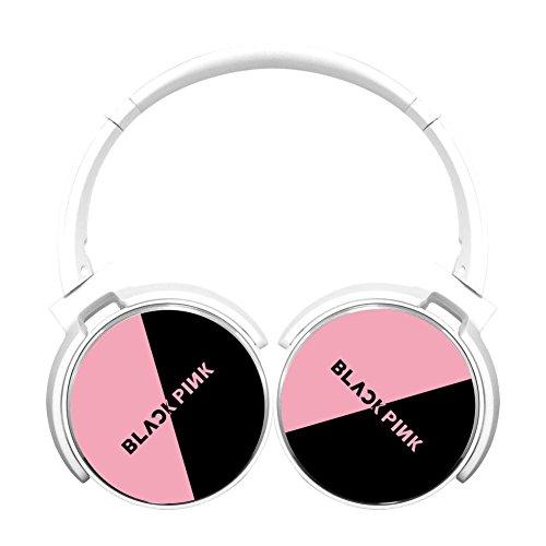 Asioli New Style Blackpink Bluetooth Headphones,HIFI Stereo Wireless Headset White -