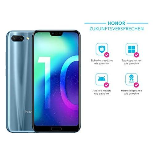 chollos oferta descuentos barato Honor 10 14 8 cm 5 84 4 GB 64 GB SIM Doble 4G Negro Gris 3400 mAh Smartphone 14 8 cm 5 84 4 GB 64 GB 24 MP Android 8 0 Negro Gris
