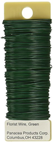 Price comparison product image Paddle Wire 22 Gauge 4 Ounces/Pkg-Green