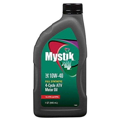Citgo Petroleum Mystik 10W40 ATV Oil, 1 quart