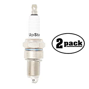 2-Pack Compatible Spark Plug for 1955-1962 Mercedes-Benz 190SL L4 1.9L - Compatible Champion RN12YC & NGK BPR5ES Spark Plugs