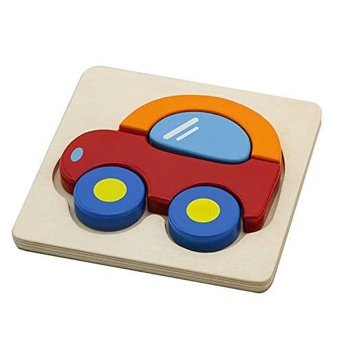 Viga Toys - 50172 - Mini Puzzle En Bois - Auto