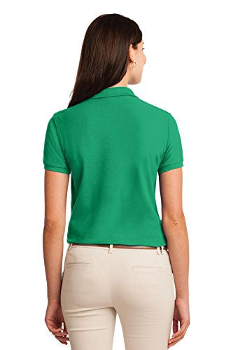 Per Touch Port L500 Green Court Donna Authority Silk Polo vExad7qq