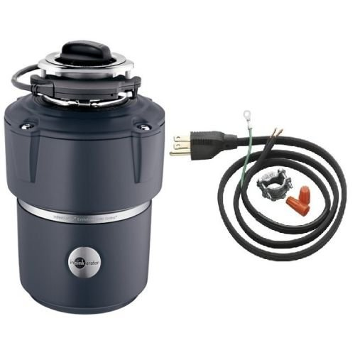 InSinkErator COVER CONTROL PLUS Evolution 3/4 HP Batch Feed Garbage Disposal wit, Power Cord Included by InSinkErator