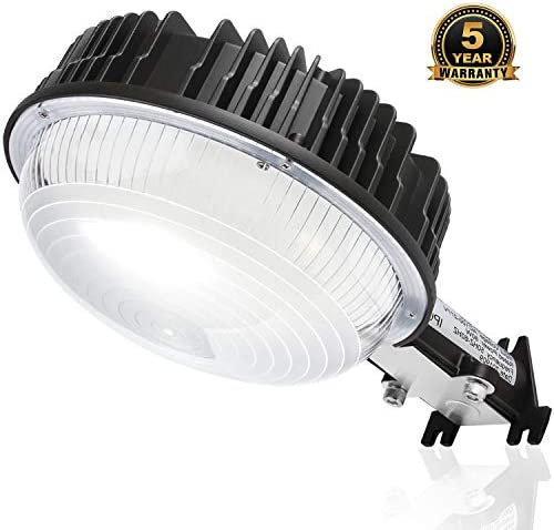 LED Yard Lights, 120W Dusk to Dawn Barn Lights with Photocell Sensor 800W MH HPS Replacement 14400Lm 5000K Security Area Lighting IP65 Waterproof Outdoor LED Floodlight for Garden Walkway Deck