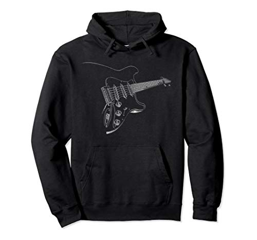 Cool Electric Pullover Musician Guitar Rock and Roll ()