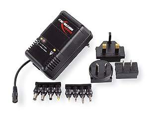 Ansmann 5C07063 - ACS 410 traveller mobil, cargador enchufable para conjunto de pilas NiCd-/NiMH