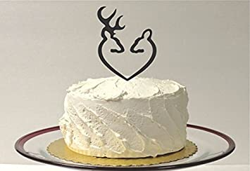 Amazon country doe and buck wedding cake topper country western country doe and buck wedding cake topper country western cake topper hunter wedding cake topper wilderness junglespirit Choice Image