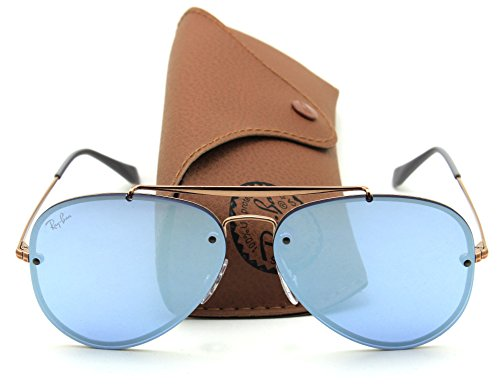 Ray-Ban RB3584N BLAZE AVIATOR Mirror Sunglasses 90531U, - Aviator Blaze Ban Ray