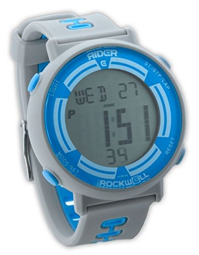 Rockwell Time RGF-107 Game Face Digital Dial Watch, Gray/Yellow by Rockwell Time