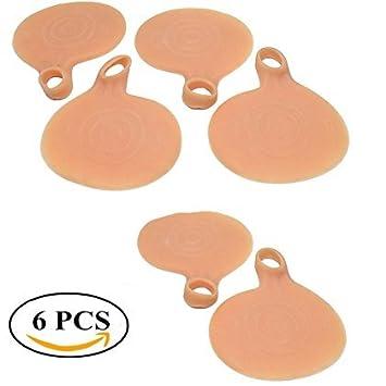 Amazon.com: 6pcs silicona pelota de Gel para Soporte de Arco ...