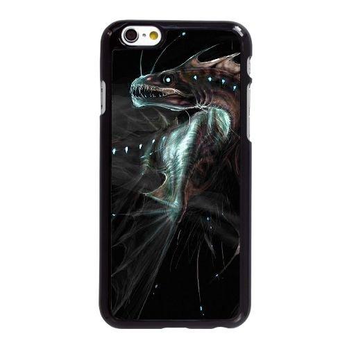 R8H72 mer profonde monstre K2X5EX coque iPhone 6 Plus de 5,5 pouces cas de couverture de téléphone portable coque noire IH9KZH7LR