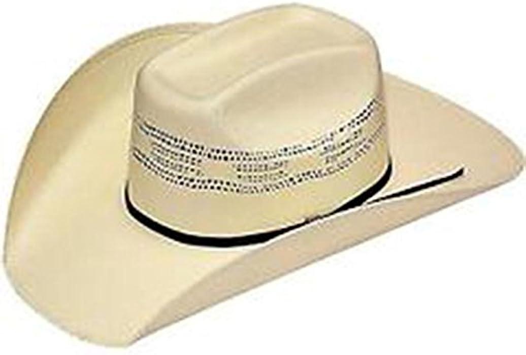 57c1991fb9a90 Amazon.com  Twister Men s Bangora Straw Cowboy Hat Natural 7 5 8 ...