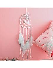 LAVAY Unicorn Dream Catcher Handmade Feather Flower Purple Dream Catcher for Kids Bedroom Boho Home Wall Hanging Baby Girls Nursery Decoration
