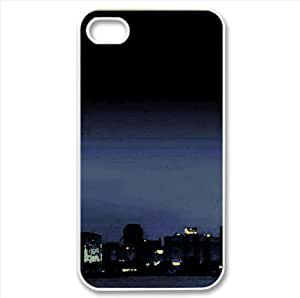Nigh In The City Watercolor style Cover iPhone 4 and 4S Case