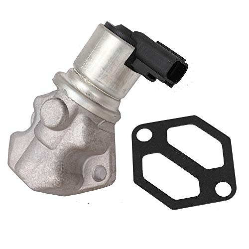 Idle Air Control Valve IAC Valve Motor for Mercruiser V6 V8 5.0L 5.7L 4.3L 862998 27-863112 Idle Speed Control Motor with Gasket