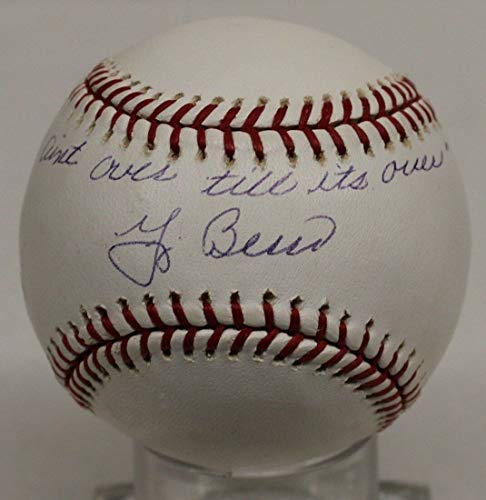 Yogi Berra Autographed Signed Memorabilia Official MLB Baseball Autographed Signed Memorabilia Yankees - PSA/DNA Authentic