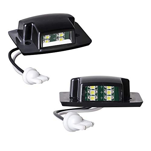 MOFORKIT LED License Plate Light White Compatible with 1994-2002 Dodge Ram 1500 2500 3500 ()