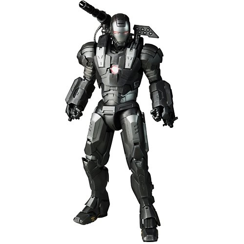 Hot Toys Movie Masterpiece Series Iron Man 2 War Machin