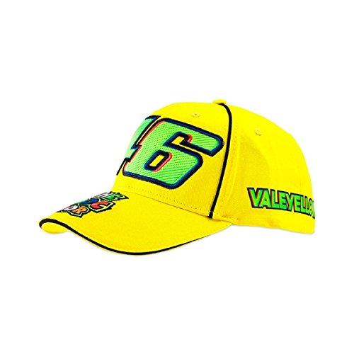 VR46 Official Valentino Rossi MotoGP 46 Valeyellow Snapback Cap 0037171993381