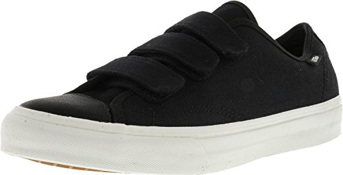 Vans Hombres Prison Out Twill Blanco Negro / Blanco