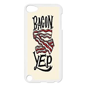 [Funny Design] Bagcon Yep Case For Ipod Touch 5, Ipod Touch 5 Case Antishock For Women Protective {White}