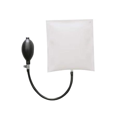 Tradtrust cuña Bomba de Aire Hinchable Bolsa de PVC Shim Puerta Ventana Lock Alignment Herramientas, Blanco, Style 2