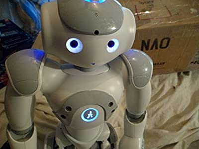 Nao Humanoid Robot V3.3 Battery Operated With Newest Intel Atomic Processor Head