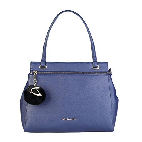 Blu Byblos 675841 Bolso de mano Mujer Blue